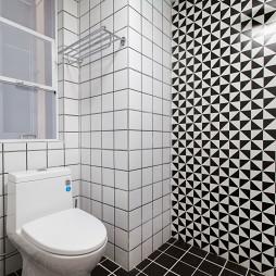 小清新混搭风格卫浴设计美图