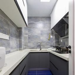 小清新混搭风格厨房设计美图