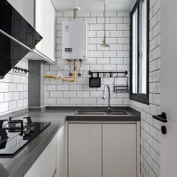 美图北欧小户型厨房设计图