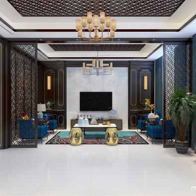 新中式设计-自建别墅-亳州