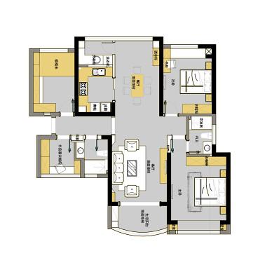 雅盛设计|追求品质生活的现代港式_3353291