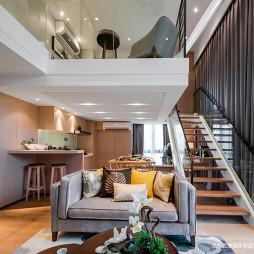 样板房现代楼梯设计图