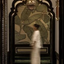 青泰足浴玄关设计图
