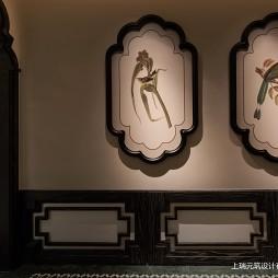 青泰足浴墙画设计图