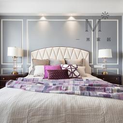 絮语美式三居卧室图