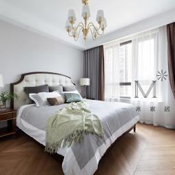 絮语美式卧室图