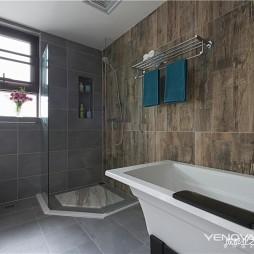 中海九号公馆现代四居卫浴设计图