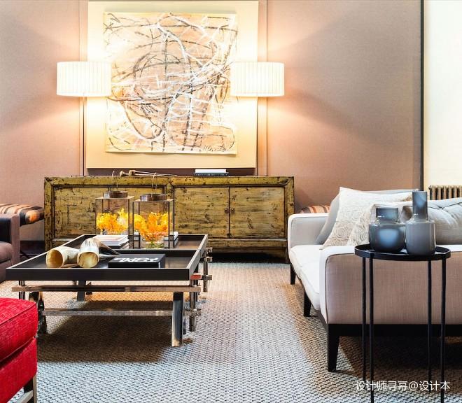 阁楼低语loft小户型客厅装修设计图