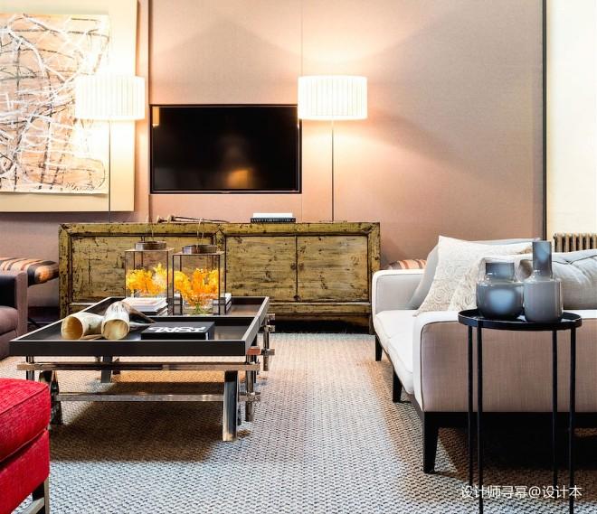 阁楼低语loft小户型客厅设计实景图