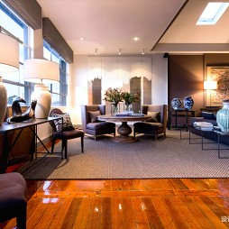 阁楼低语loft客厅装修设计图