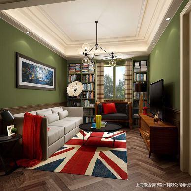 法式英伦风格设计-虹桥豪院_3358531