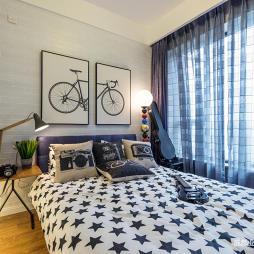 美少年现代小户型卧室装修设计图