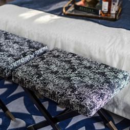美图美式复式卧室榻榻米装修设计图