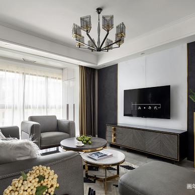苏州画年代设计现代客厅设计图