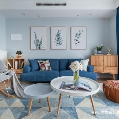 美图北欧三居客厅设计图片