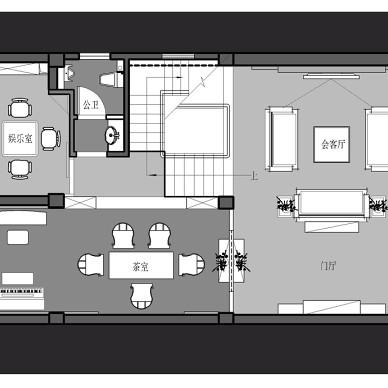 【新中式别墅设计】茶室篇_3362943