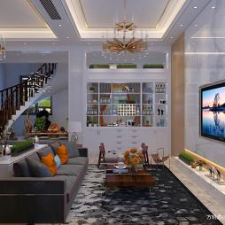 亳州别墅设计-现代轻奢风格_3365000
