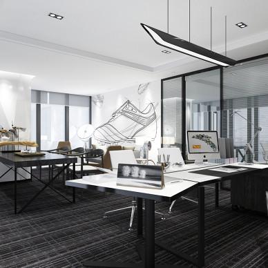 灰色调——办公室设计_3365439
