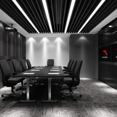 灰色调——办公室设计_3365440