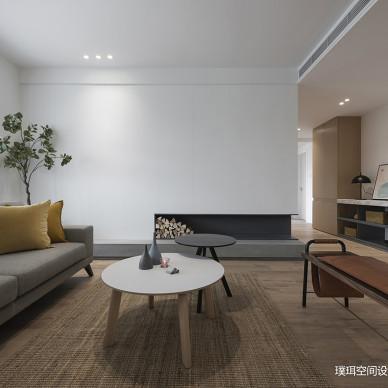 素·然三居住宅现代风客厅装饰设计图