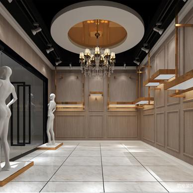 男装店设计案例丨成都服装店装修设计_3366262