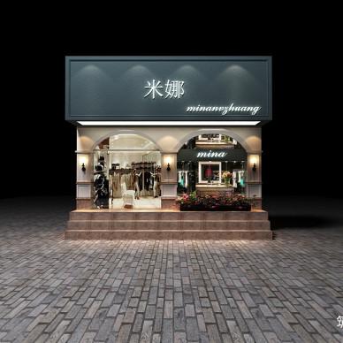 男装店设计案例丨成都服装店装修设计_3366264