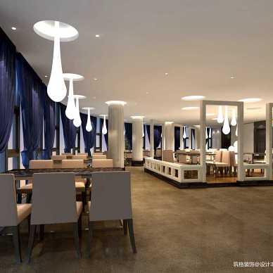 自助餐厅设计案例丨贵阳自助餐厅装修设计_3366270