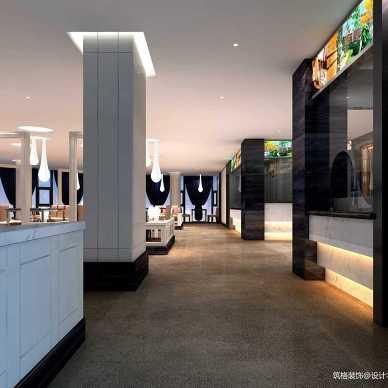 自助餐厅设计案例丨贵阳自助餐厅装修设计_3366271