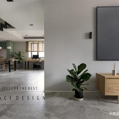 摩登時代簡約風格客廳設計圖