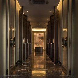 混搭酒店空间走廊设计