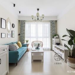北欧风格三居-客厅设计