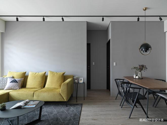现代减简客厅设计