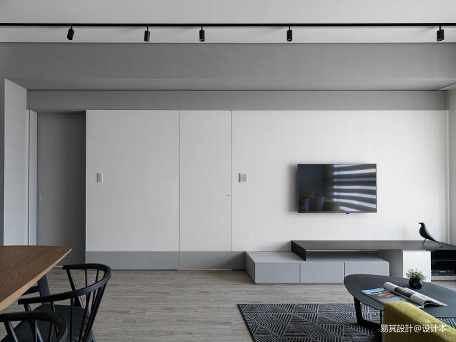 现代减简-客厅设计
