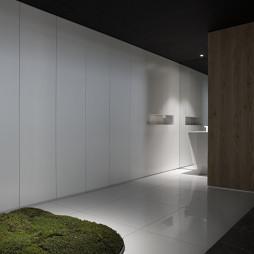 储物柜与洗手间设计