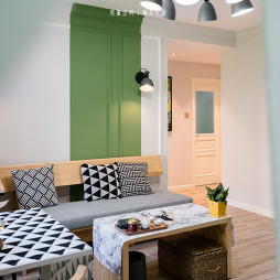 北欧风格---客厅设计