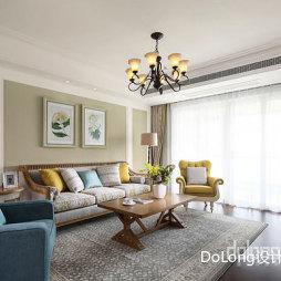 美式-客厅设计