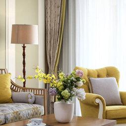 美式--客厅设计