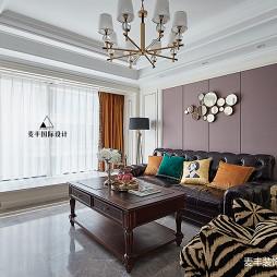 美式琥珀客厅设计
