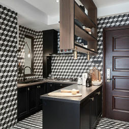 混搭-厨房装修设计