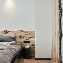 混搭二居-卧室仓谷门设计图