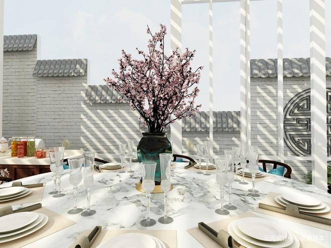 楼顶花园 装修设计效果图 云尚设计中心设计师作品