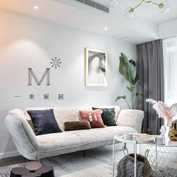舒服的现代简约客厅设计