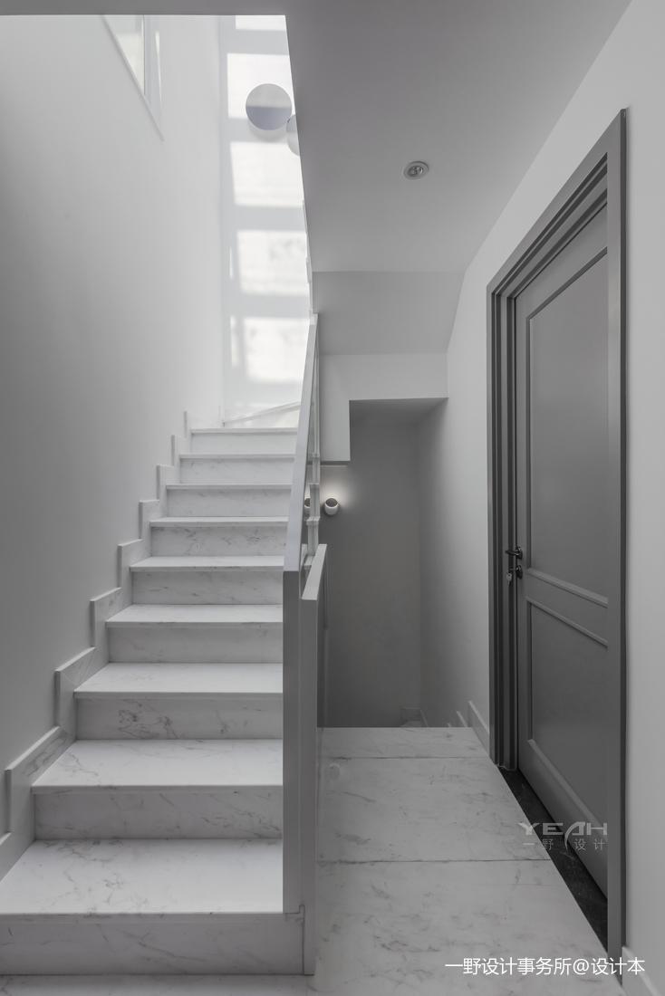 简约风格之绿地晶萃楼梯设计图