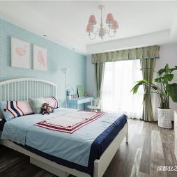现代清新卧室设计