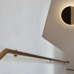 混搭风格办公室之艺术即媒介楼梯扶手设计图