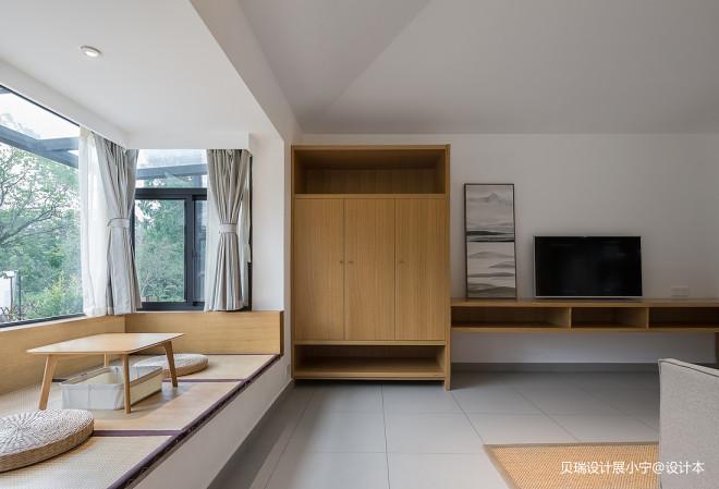 混搭风格之陶山居民宿休闲阳台区设计图