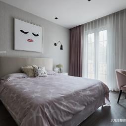 现代风格灰色轨迹-儿童房间