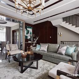 现代中式高雅客厅