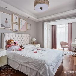 现代中式儿童房间设计图