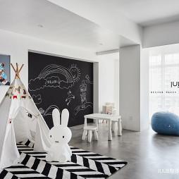 混搭风格办公室之幼儿休息区设计图